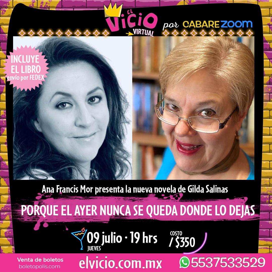Ana Francis Mor presenta la nueva novela de Gilda Salinas