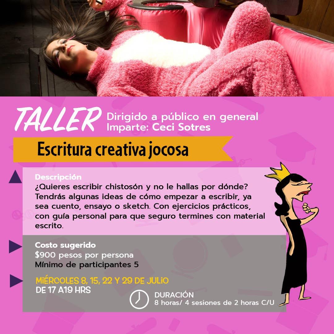 Taller: Escritura Creativa Jocosa