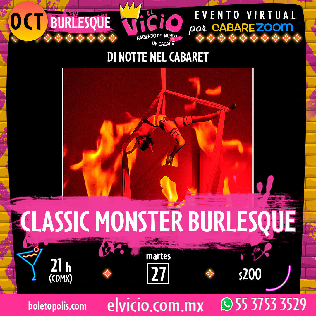 Classic Monster Burlesque