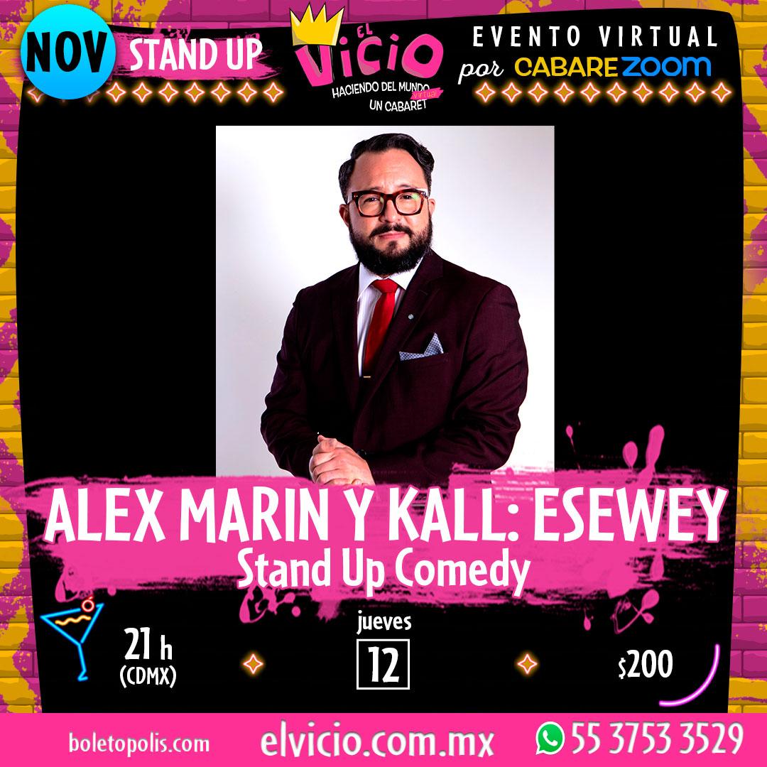 Alex Marín y Kall: Esewey Stand Up Comedy