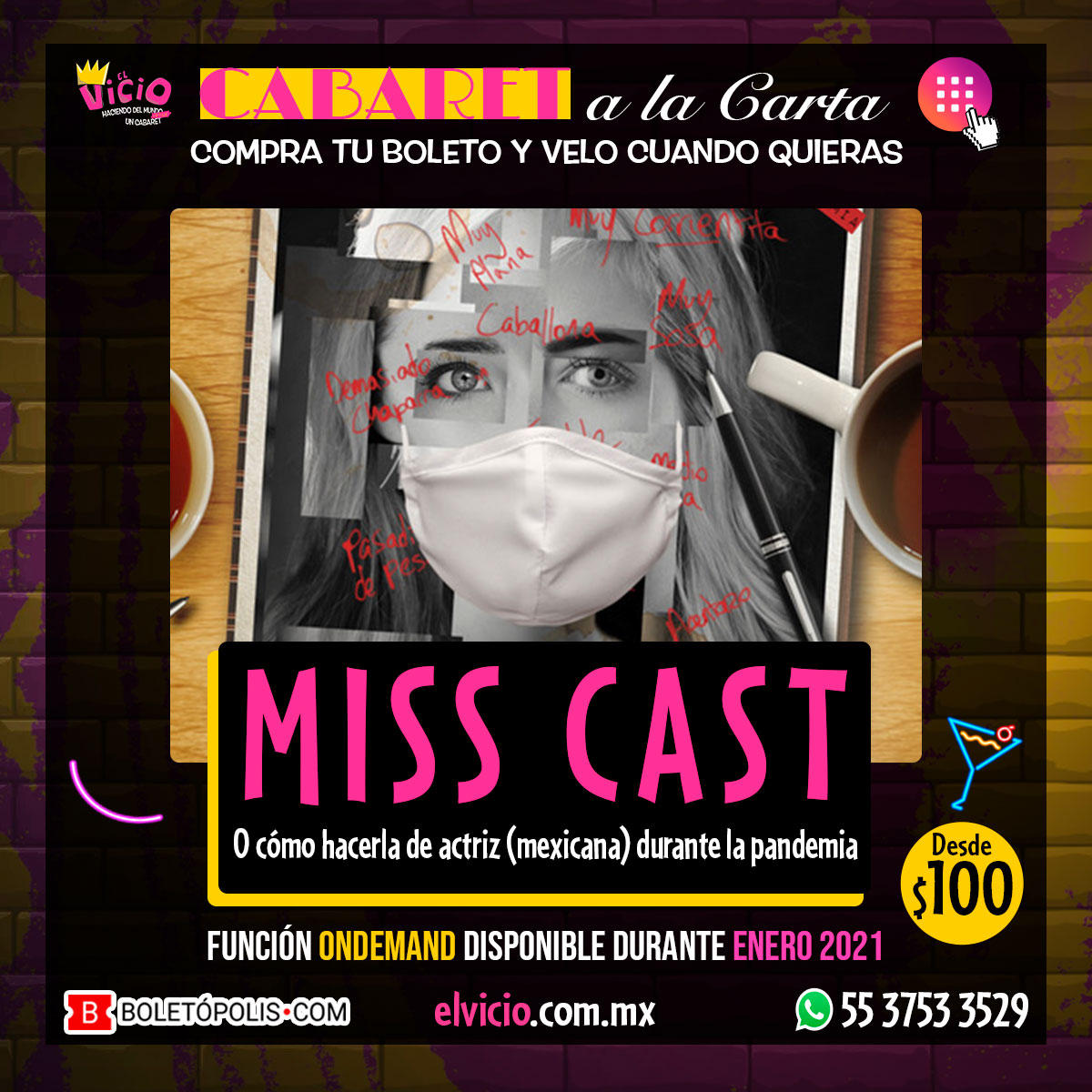 Miss Cast (a la Carta)