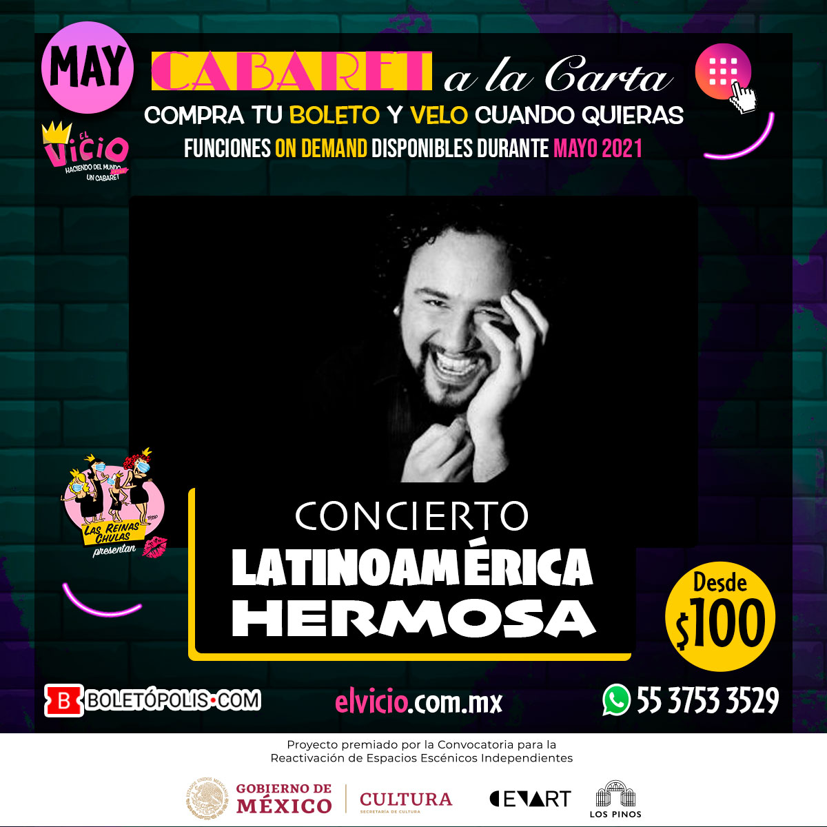 Concierto Latinoamérica Hermosa