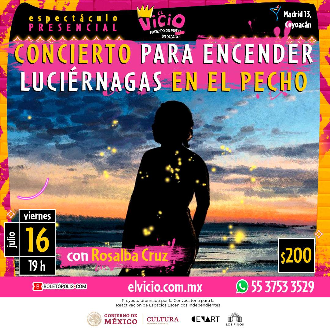 Concierto para Encender Luciérnagas en el Pecho